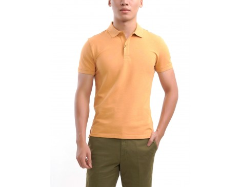 Classic Polo T-Shirt (Orange)