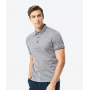 Striped Contrast Polo T-shirt