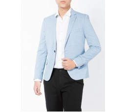 Mens Slim Fit One Button Blazer Jacket 1