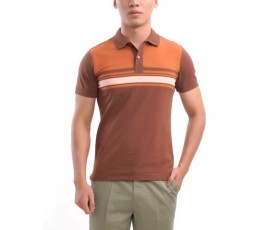 Stripe Body Polo T-Shirt