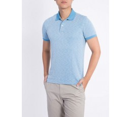 Polo T-shirt Flat Knitted Collar and Cuff