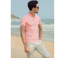Classic Polo T-Shirt (Pink)